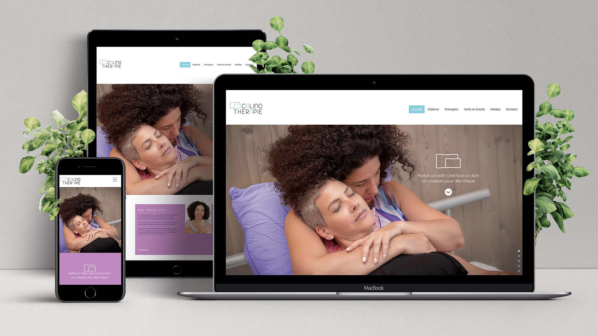 site internet calinotherapie.ch
