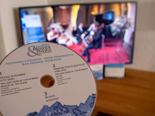DVD Festival Musique et Neige